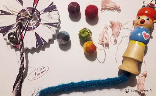 activités maanuelles tricotin